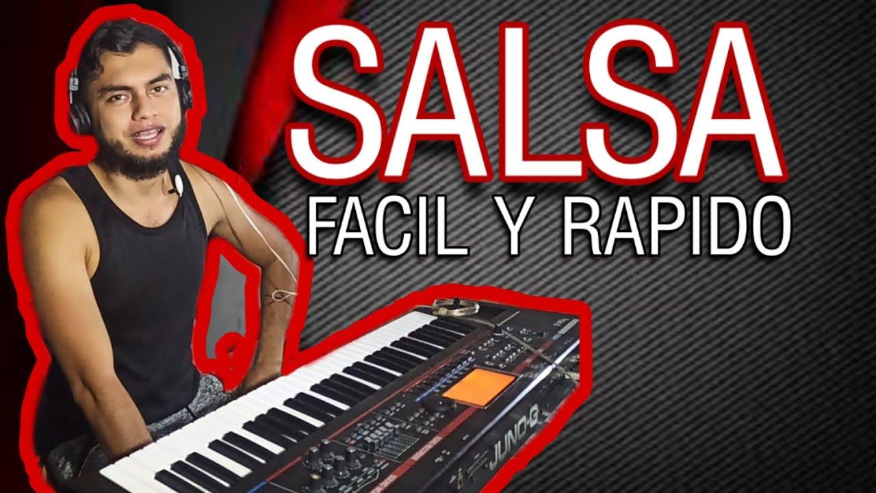 🔥 Como TOCAR SALSA EN PIANO【 MUY FACIL 】 ️ Tutorial salsa ...