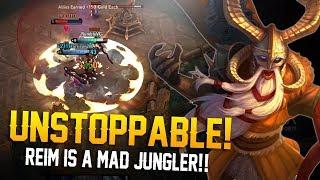 UNSTOPPABLE REIM!! Vainglory 5v5 Gameplay - Reim |CP| Jungle Gameplay