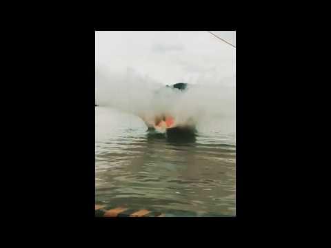 Freefall Lifeboat 20m Test - Ningbo New Marine