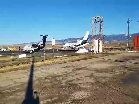 Craig at the Ravalli County Airport