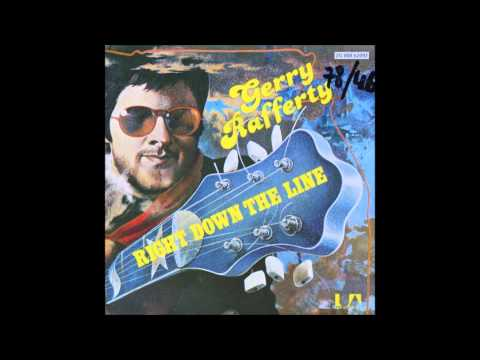 gerry rafferty   right down the line  HQ vinyl rip