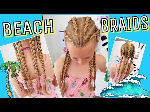 BRAIDS! im Rasta-Look Sommer Strand Beach Frisur coole Mädchen Zöpfe&Frisuren