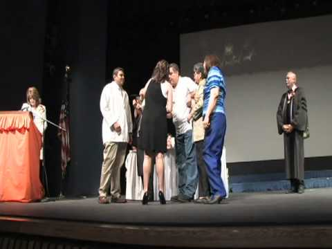 The University of Texas at El Paso School of Nursing - Pinning Ceremony Spring 2009
