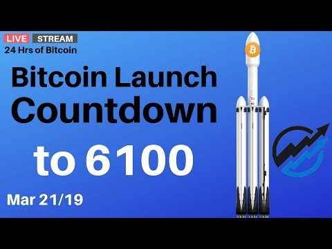 Bitcoin Launch Countdown To 6100 – Breakout Imminent  | Thursday March 21 2019