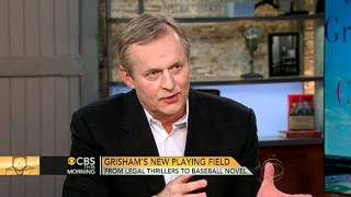 "John Grisham talks new baseball book, ""Calico Joe"""