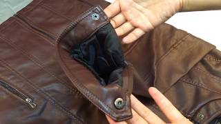 CARANFIER  Men Leather Jackets High Quality Motorcycles British