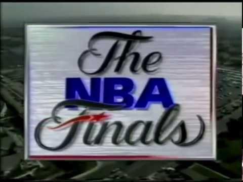 NBA ON NBC INTRO - 1991 NBA FINALS GAME 5 - BULLS @ LAKERS