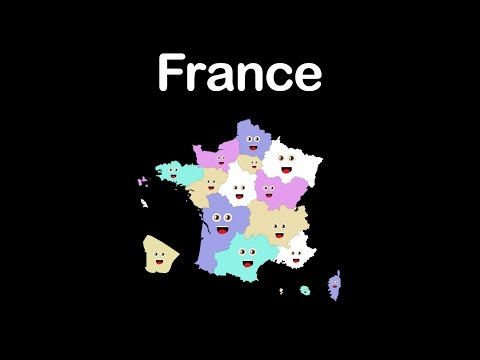 France Regions/French Regions/Regions of France