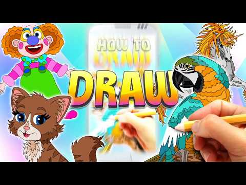 How to draw. For Pc - Download For Windows 7,10 and Mac