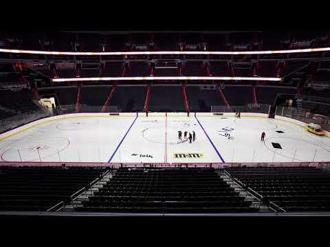 Capital One Arena Ice Build