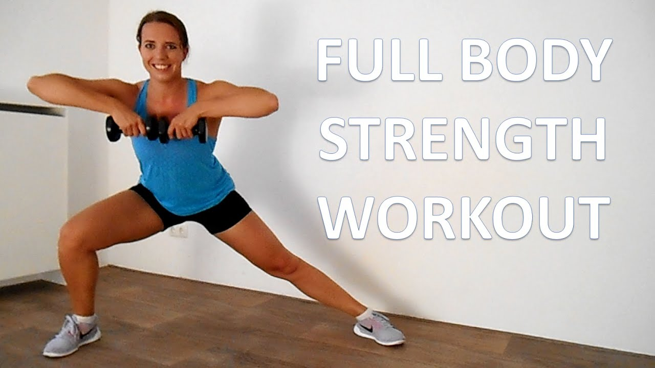 10 Minute Full Body Strength Workout – Short and Effective Power Strength Workout - YouTube