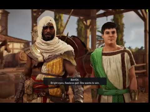 Assassin's Creed Origins Wild Ride and The Weasel Side missions Gameplay