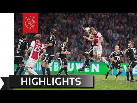 Highlights Ajax - Rosenborg BK