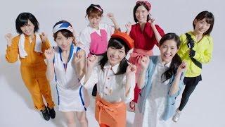 """アルバイト・パート求人情報サイト「バイトル」新CMが、12日よりオンエア。AKB48グループの通称""""神7""""メンバーが、バイト制服姿で登場している。"""