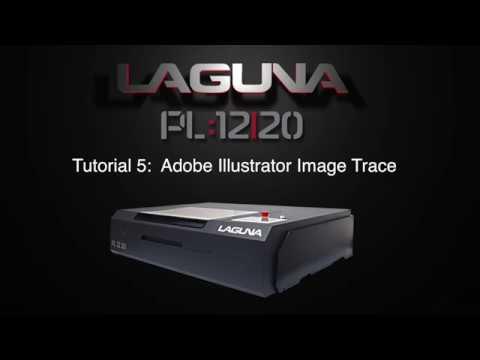 RDworks Tutorial 5 Bitmap Trace Illustrator Output Vectors For PL:12|20 CNC Laser Cutters