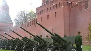Гимн России на параду победы (2017)