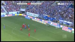 Hoffenheim 1-2 Bayern Munich Muller and