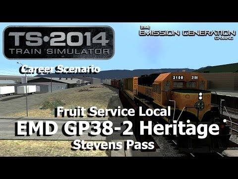 Fruit Service Local - Career Scenario - Train Simulator 2014