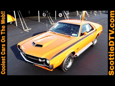 1970 AMC AMX 2016 Auctions America Auburn Fall Collector Car Weekend