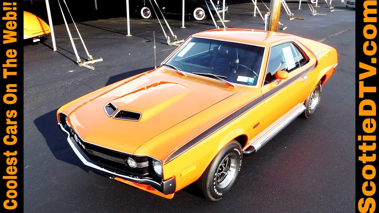 1970 AMC AMX 2016 Auctions America Auburn Fall Collector Car Weekend ...