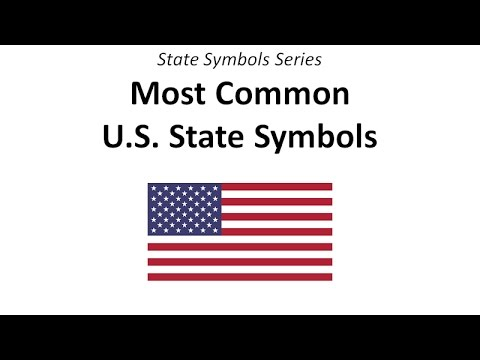 Most Common U.S. State Symbols
