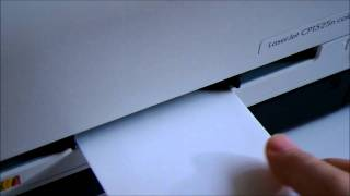 [HP Color LaserJet Pro CP1525n] Envelope Print