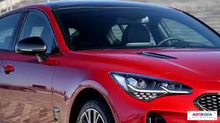 KIA Stinger - тест драйв.  Киа Стингер самый динамичный автомобиль уже в России!