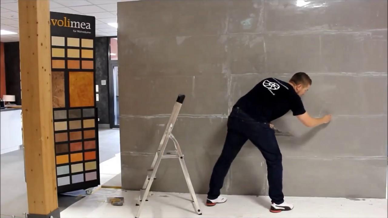 verarbeitung betonoptik youtube. Black Bedroom Furniture Sets. Home Design Ideas