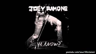 Joey Ramone - I Couldn't Sleep (New Album 2012)