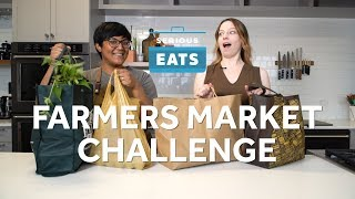 Sohla and Stella's Farmers Market Challenge