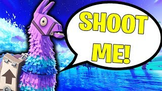 99% OF PEOPLE DON'T KNOW THIS FORTNITE LLAMA TRICK!!! (Fortnite Battle Royale Solo Win Gameplay)