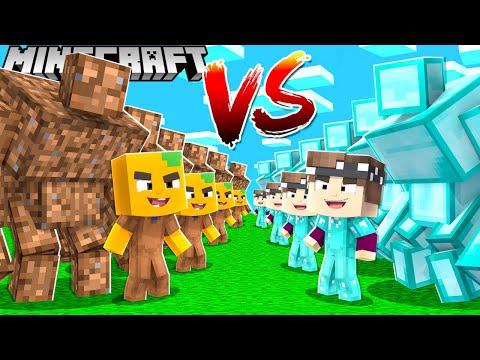 1€ ARME Mutanten Armee vs. 10.000€ REICHE Mutanten Armee in Minecraft!