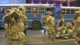 National Guard members arrive in Bellevue