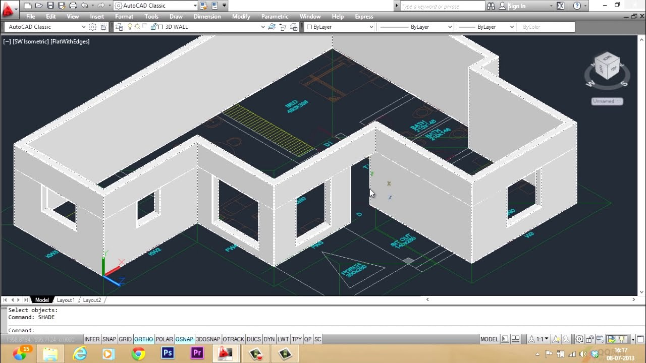 open 3d pdf in cad