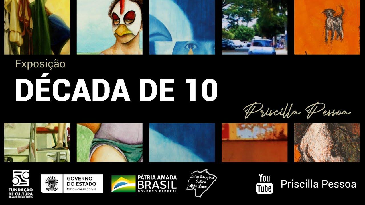 Está no ar a vídeo-exposição DÉCADA DE 10
