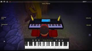 Get Lucky - Random Access Memories by: Daft Punk on a ROBLOX piano.