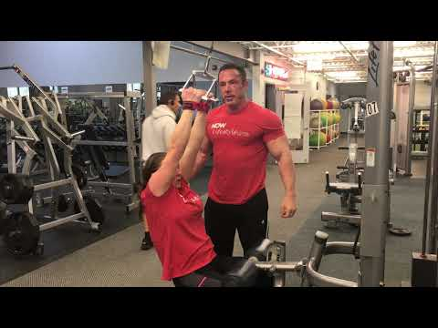 Close Grip Lat Pull Down with Danielle Ackerman and Joel Therien
