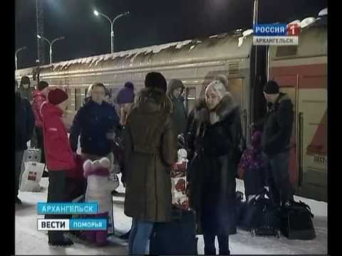 """С 15 марта поезд """"Архангельск-Няндома"""" отменяется навсегда"""