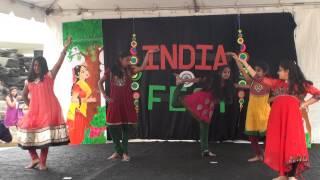 IUCA INDIA FEST 2013 - KIDS Fusion Dance