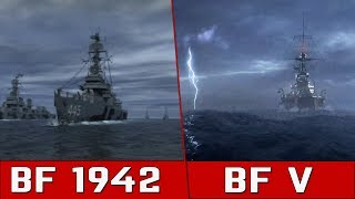Battlefield 1942 vs Battlefield V: The Opening Scenes Compared