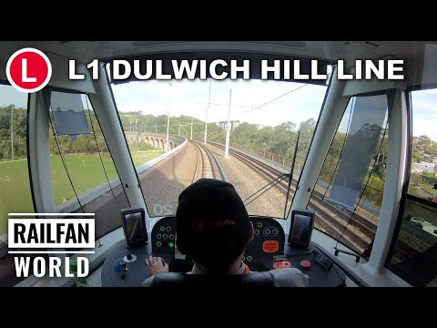 Panoramic Cab Ride | Sydney Light Rail | L1: Dulwich Hill Through CBD To Central Station | 4K
