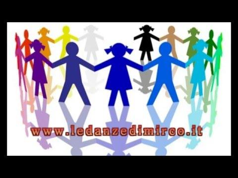 Danze di Accoglienza ...,bailes para niños - kids dance - kinder tanz - school dance