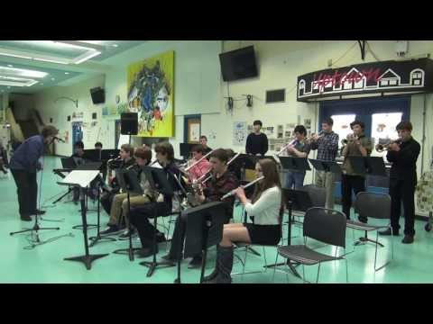 Andover MA Middle and High School Jazz Bands 2014
