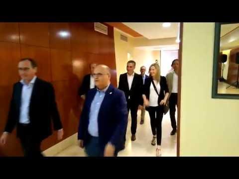 Llegada Alfonso Alonso a la junta directiva aberta del PP de Ourense