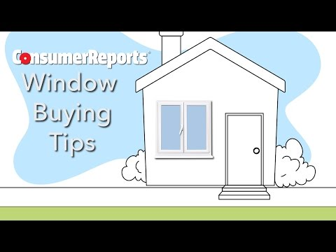 Window Shopping Tips   Consumer Reports