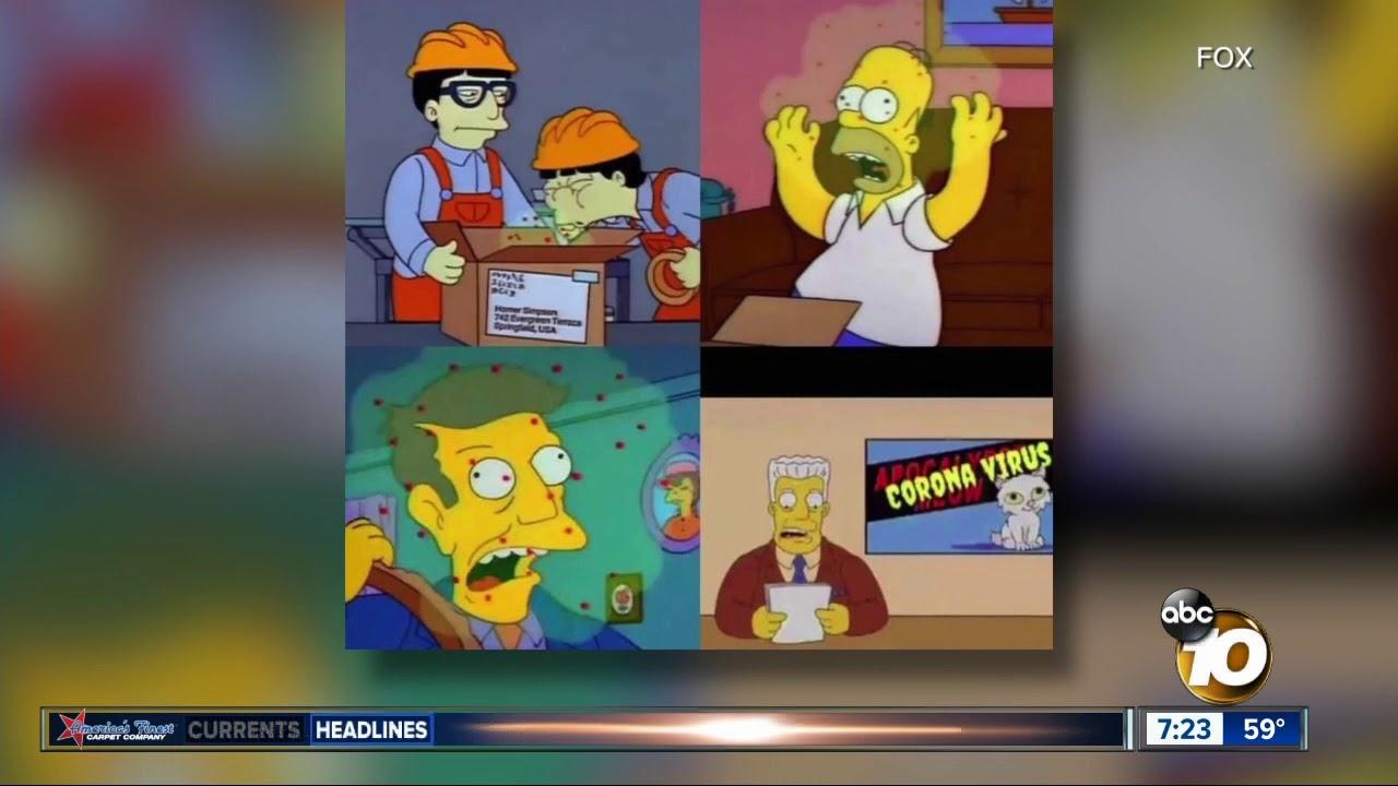 The Simpsons Predicted The Coronavirus Outbreak Youtube