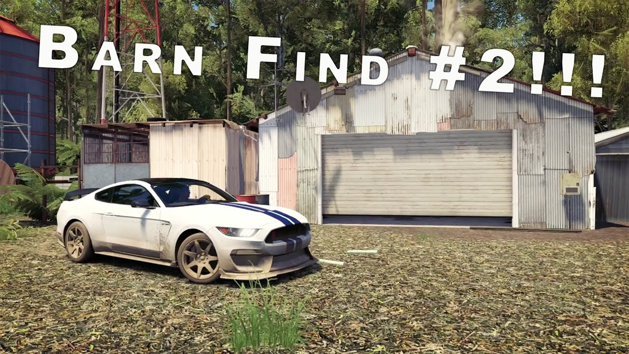 Another Barn Find Found In Fh3 Demo Forza Horizon 3