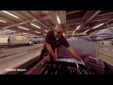 Baggage Handling System - Schiphol Airport