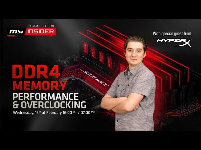 ▷ New MSI DDR4 ram set at 5 9GHz achieved world record