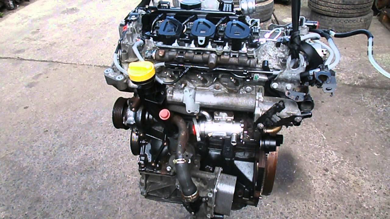 Vivaro Trafic Primastar 2 0 Td M9r786 Engine 2010